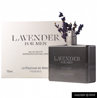 "EAU DE TOILETTE "" LAVENDER FOR MEN"" - FLACON SPRAY 75ML"